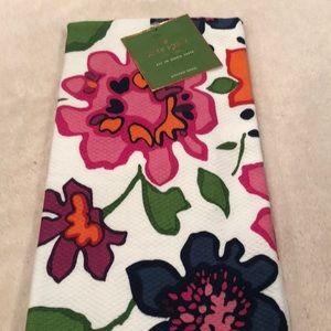 Kate Spade All In Good Taste Floral kitchen towel